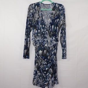 Jennifer Lopez Blue/Gray Dress, Sz XL